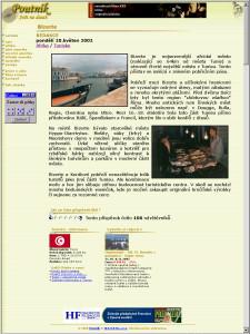 Poutník.cz v roce 2002 (klikněte)
